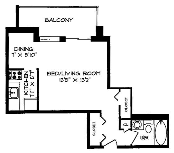 Royale apartments floorplans photos for Apartment floor plans toronto